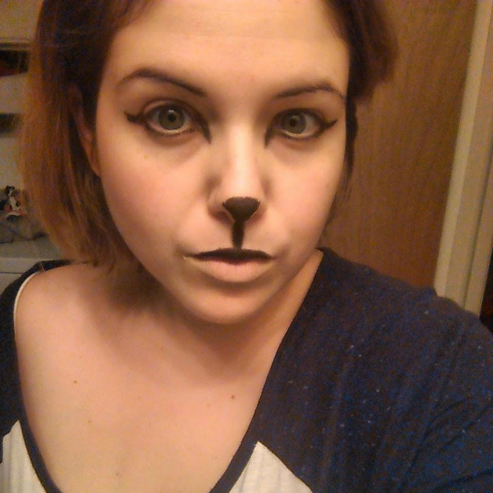 Maquillage halloween les f lins paperblog - Maquillage loup facile ...