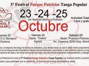 Festival Tango Parque Patricios troisième année consécutive l'affiche]