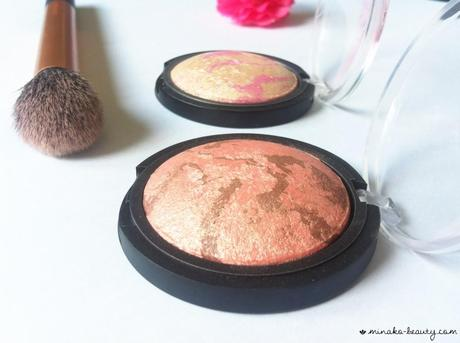 Baked blush Peachy Cheeky elf-Minako Beauty