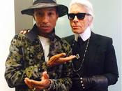 Cara Delevingne Pharrell Williams tournage pour Karl Lagerfeld...