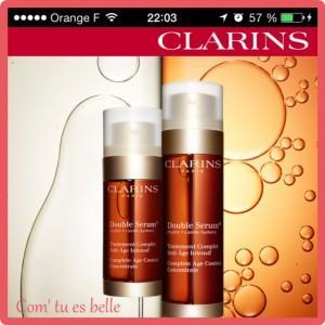 application clarins