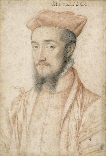François Clouet Charles de Guise cardinal de Lorraine