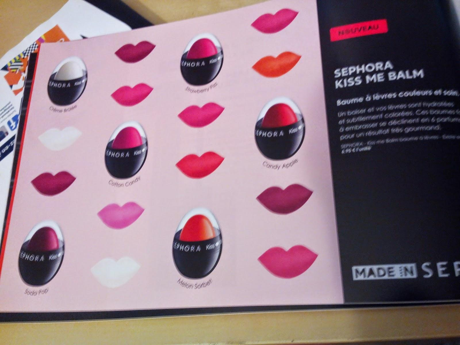Ma wish list chez Sephora
