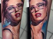 tatouages hyperréalistes Valentina Ryabova