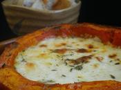 Fondue potimarron fromage