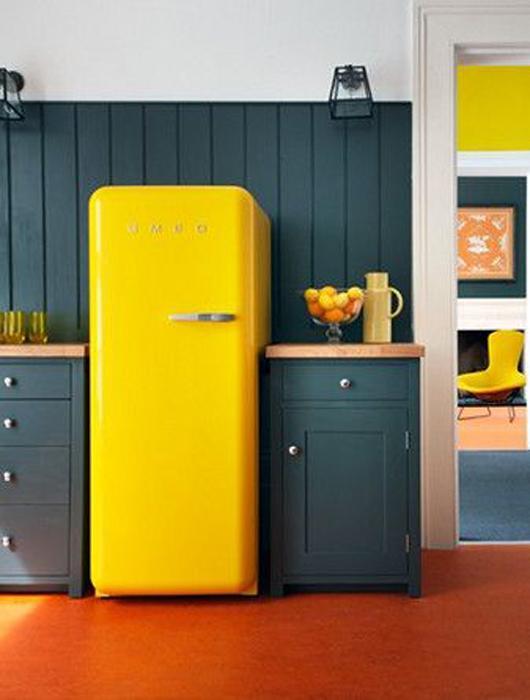 20 id es de cuisine jaune paperblog. Black Bedroom Furniture Sets. Home Design Ideas