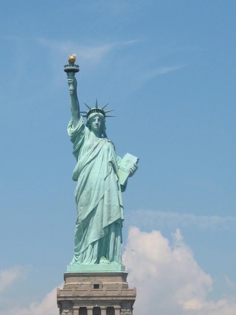 expose sur la statue de la liberte en anglais