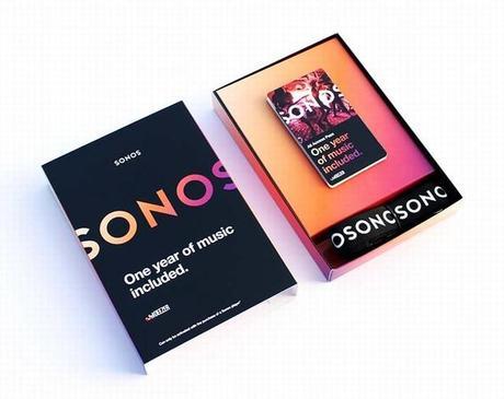 Un an d'abonnement à Deezer offert pour tout achat d'une enceinte Sonos