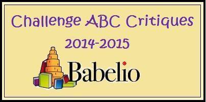 Challenge ABC Critiques 2014/2015 sur Babelio
