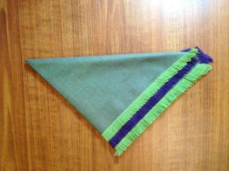 serviette table franges 8 façons de finir des serviettes de table