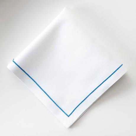 serviette point bourdon 8 façons de finir des serviettes de table