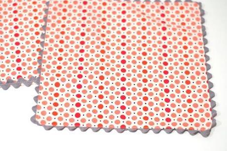 serviette table croquet 8 façons de finir des serviettes de table