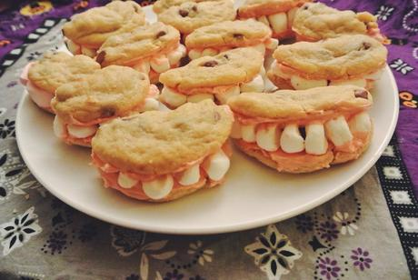 cookies halloween dentier