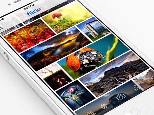 Après l'iPhone, Flickr adopte l'iPad