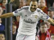 Liga Benzema porte Real Madrid Grenade