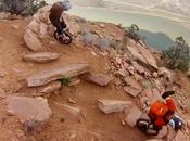 Descente montagne monocycle! Attention danger