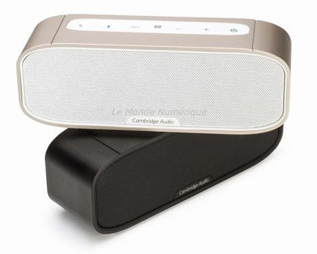 Enceinte Cambridge Audio G2, pour emporter la musique avec soi