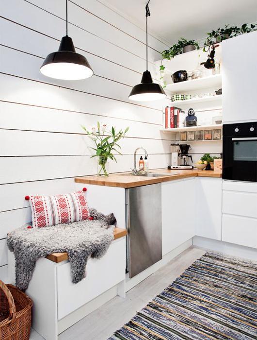 cuisine toute blanche cuisine moderne avec lot with cuisine toute blanche with cuisine toute. Black Bedroom Furniture Sets. Home Design Ideas