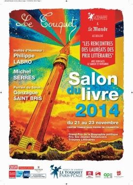 EVENEMENT - Salon du livre du Touquet-Paris-Plage