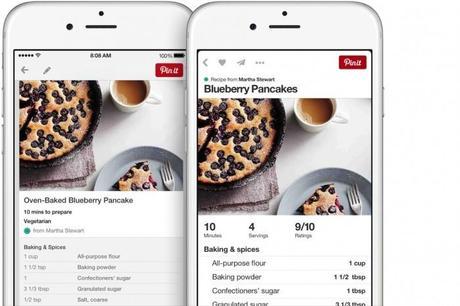 pinterest ios iphone 700x466 Pinterest peaufine l'interface de son application iPhone