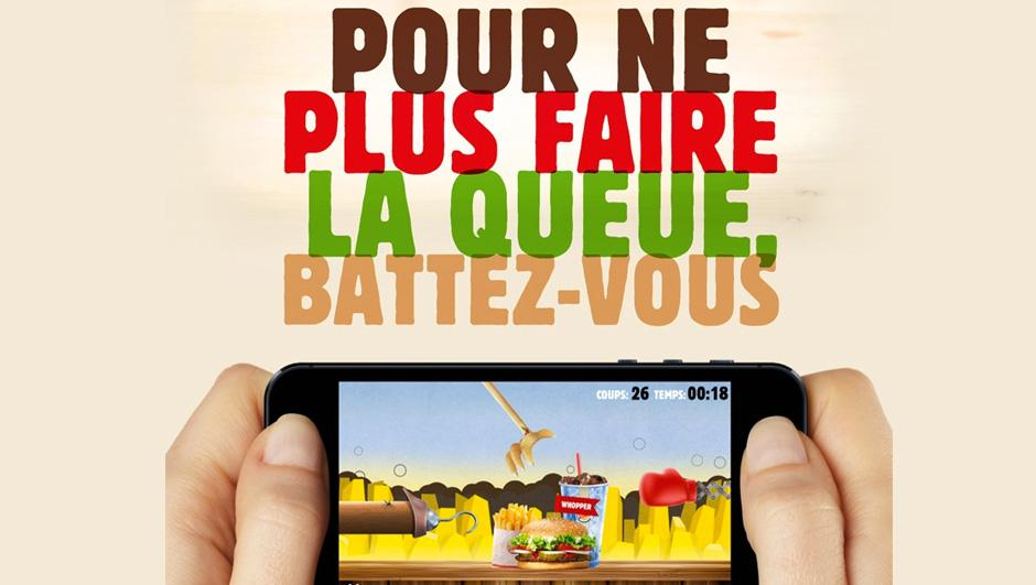 04 burger king 01 Un jeu smartphone pour ne plus faire la queue chez Burger King