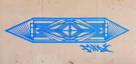 De la bombe au rouleau de scotch : le travail de Flëkz - Street Art
