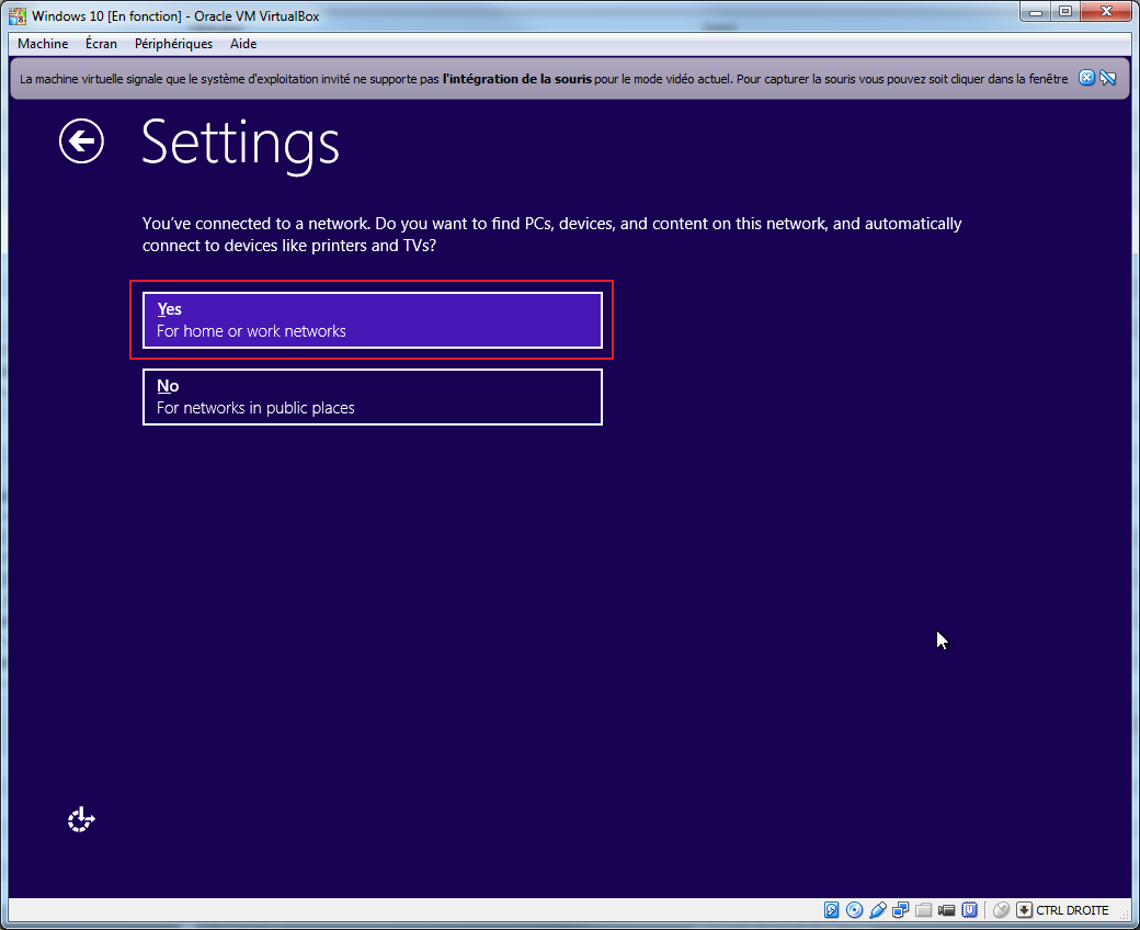 Tester la technical preview de Windows 10 en VM   install 07