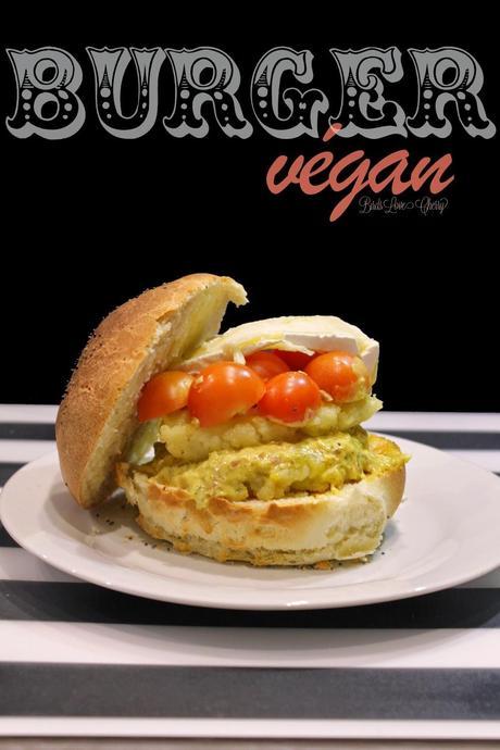 Bataille Food #15 : burger vegan au curry et à l'ortholan