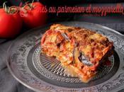 Aubergine mozzarella parmesan