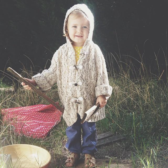 october insta little boho girl