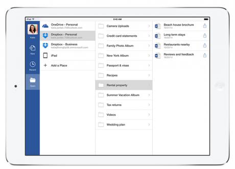 Office and Dropbox 1 693x500 Microsoft Office deviendra la suite bureautique de Dropbox
