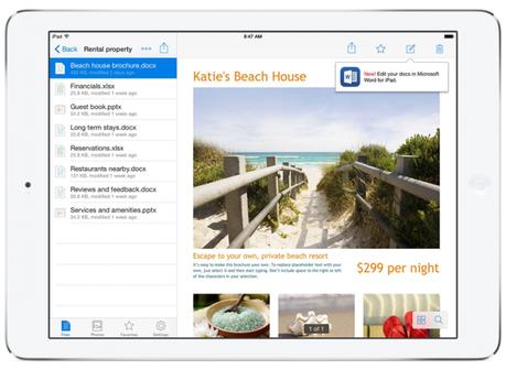 Office and Dropbox 2 685x500 Microsoft Office deviendra la suite bureautique de Dropbox