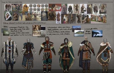 Concept art armure