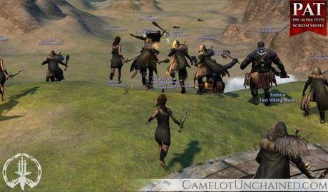 Système de combat camelot unchained