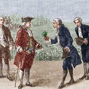 Parmentier fait connaître la pomme de terre à la cour