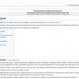 Veille, e-réputation, médias sociaux et community manager dans Wikipédia