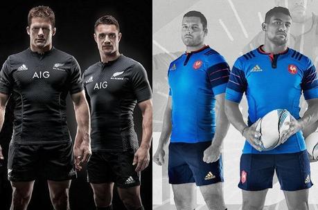 France VS All Blacks: bataille de maillots avant le Mondial
