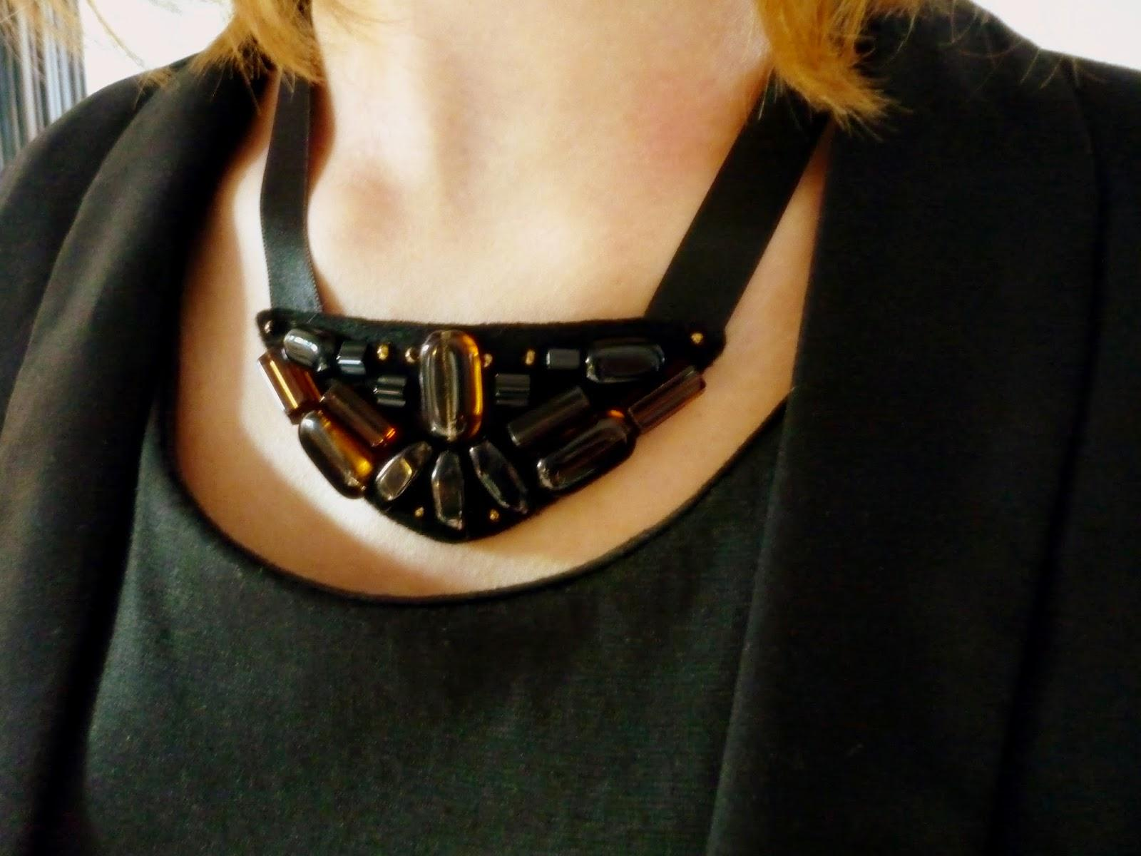 DIY : collier plastron