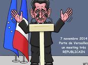 meeting très républicain Sarkozy