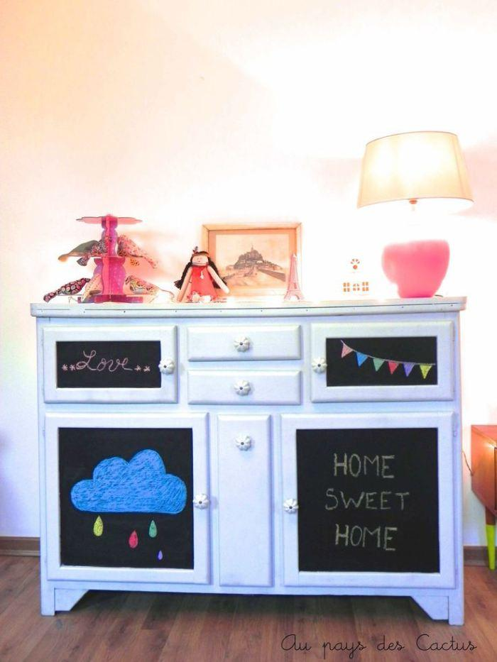 diy ardoise peinture frigo diy pour frigo avec rayures doraces peinture frigo ardoise couleur. Black Bedroom Furniture Sets. Home Design Ideas