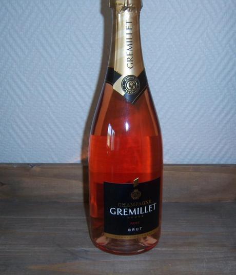 Champagne Rosé Gremillet