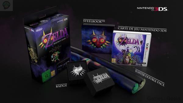 Un collector pour THE LEGEND OF ZELDA MAJORA'S MASK 3D