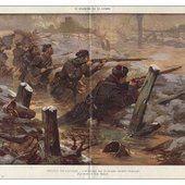 10 novembre 1914 : Fin de la bataille de Dixmude