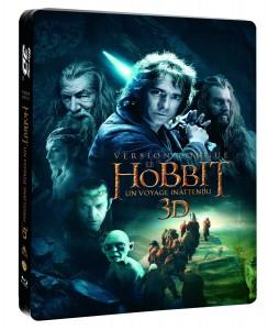 le-hobbit-un-voyage-innatendu-version longue-steelbook-bluray3d-warner-bros