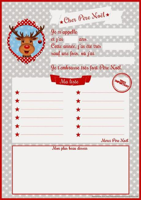 Listes de Noël. Ca y est, on y est ! [Free Printable Inside]