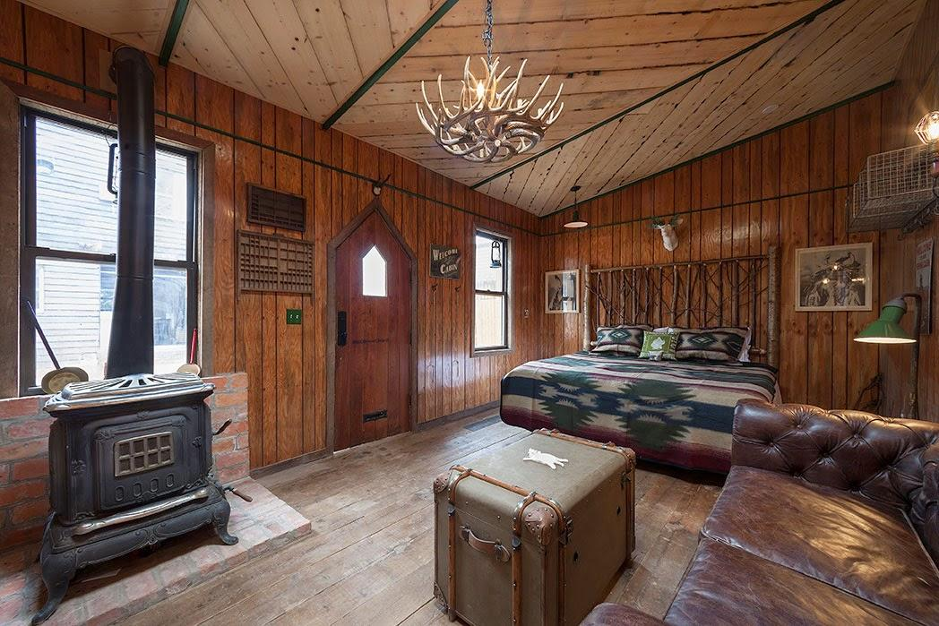 New-York / Un bed and breakfast avec un look Far West /