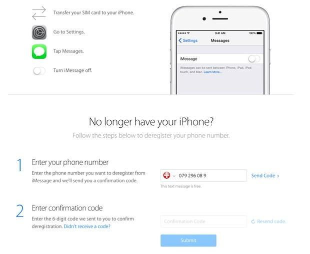 imessage désinscription iMessage : Apple facilite enfin la désinscription...