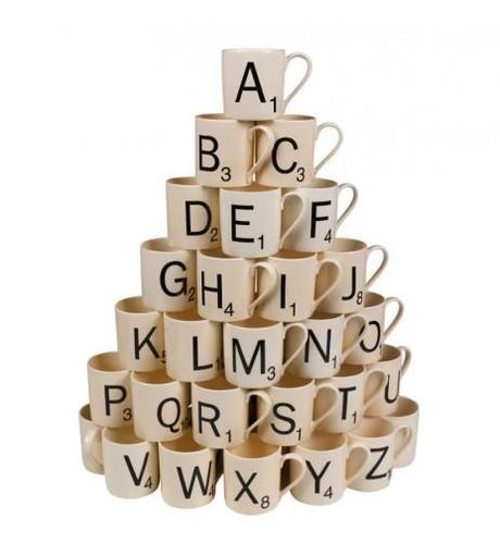Tendance déco : les lettres et les mots dans la déco