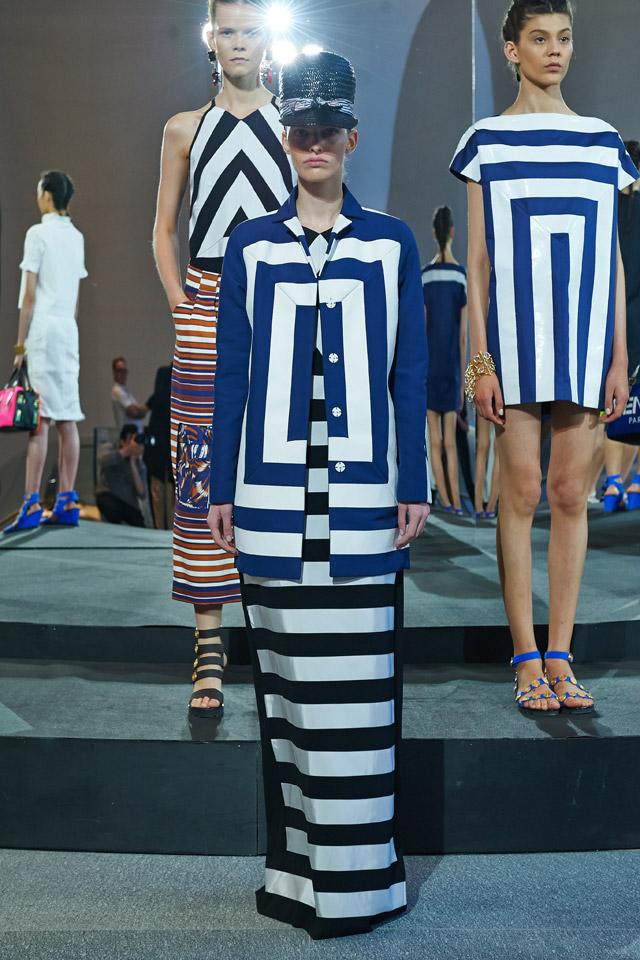 Resort 2015 Trend Alert - The Bolder and Brighter New Stripes