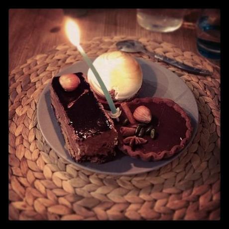 Mes mini-gâteaux d'anniversaire pour 2013